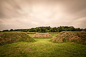 "UNESCO World Heritage Site ""Archaeological Border Complex Haithabu and Danewerk"", Schanze 14, Dannevirke, Schleswig-Holstein, Germany"