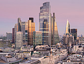 City of London, Square Mile, image shows completed 22 Bishopsgate tower, London, England, United Kingdom, Europe