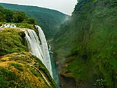 Tamul waterfalls, Huasteca Potosi, San Luis Potosi, Mexico, North America