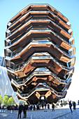 The Vessel, Staircase, Hudson Yards, Manhattan, New York City, United States of America, North America