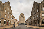 Grundvigs Church, Copenhagen, Denmark, Scandinavia, Europe