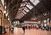 Central Train Station, Copenhagen, Denmark, Scandinavia, Europe