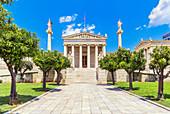 Academy of Athens, Athens, Greece, Europe