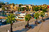 Antalya Harbour, Antalya, Turkey, Asia Minor, Eurasia