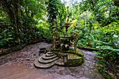 Surrealist sculpture park Las Pozas, Xilitla, Las Pozas, San Luis Potosi, Mexico, North America