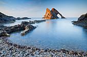Bow Fiddle Rock, Moray Firth, Moray, Scotland, United Kingdom, Europe
