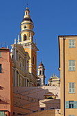 Saint-Michel-Archange Basilica, Menton, Provence-Alpes-Cote d'Azur, France