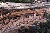 Cliff Palace, Mesa Verde National Park, Unesco World Heritage Site, Colorado, Usa, America