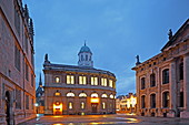 The Sheldonian Theatre,Universität, Broad Street, Oxford, Oxfordshire, England
