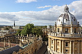 Radcliffe Camera, All Souls College, Unirversity, Oxford, Oxfordshire, England