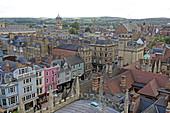 Blick auf die High Street, Oxford, Oxfordshire, England