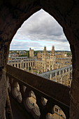 Blick von St. Mary the Virgin Kirche auf das All Souls College, Oxford, Oxfordshire, England