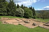 Villa Rustica (Great Witcombe Roman Villa), Brockworth, Gloucester, Cotswolds, Gloucestershire, England