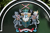 Coat of arms, Henley-upon-Thames, Oxfordshire, England