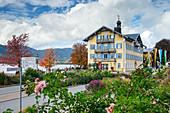Town hall of Tegernsee, Tegernsee, Upper Bavaria, Bavaria, Germany