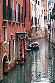 View of a canal in San Marco, Venice, Veneto, Italy, Europe