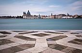 View of San Matia della Salute from San Gorgio Maggiore, Venice Lagoon, Veneto, Italy, Europe