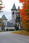 Saint Benoit du Lac Monastery, Quebec, Canada