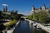 On the Rideau Canal, Ottawa, Ontario, Canada