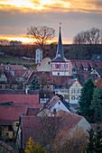 The Kirchburg Museum in Mönchsondheim, Iphofen, Kitzingen, Lower Franconia, Franconia, Bavaria, Germany, Europe