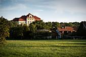Bertoldsheim Castle near MarkRennertshofen, Bavaria, Danube, Germany