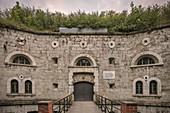 Fort Oberer Kuhberg, Federal Fortress Ulm, Danube, Swabian Alb, Baden-Württemberg, Germany