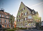 historische Häuser in der Altstadt von Donaueschingen, Schwarzwald-Baar-Kreis, Baden-Württemberg, Donau, Deutschland