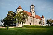 Höchstädt Castle, Dillingen District, Bavaria, Danube, Germany