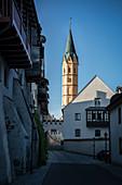 Spitalkirche Sankt Alban, Lauingen, Landkreis Dillingen, Bayern, Donau, Deutschland