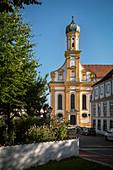 Study Church St Ursula, Neuburg an der Donau, District Neuburg-Schrobenhausen, Bavaria, Germany