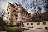 Upper Castle in Grüningen, Riedlingen, Biberach district, Danube, Germany