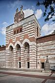 expressionist garrison church of St Johann Baptist, Neu-Ulm, Bavaria, Germany
