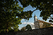 Pilgrimage church of the Oberelchingen monastery, Neu-Ulm district, Bavaria, Danube, Germany
