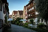 Fischerviertel, Ulm, Danube, Swabian Alb, Baden-Württemberg, Germany