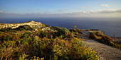 Die Südküste der Insel Malta im Abendlicht, Malta, Europa
