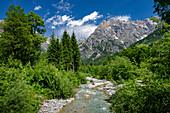 Auf dem Weg zu den Triefen, Hinterthal, Pinzgau, Salzburger Land, Östereich, Europa