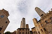 Piazza del Duomo, San Gimignano, Siena Province, Tuscany, Italy