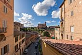 Basilica del San Francesco, Siena, Province of Siena, Tuscany, Italy