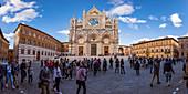 Siena Cathedral, Siena, Province of Siena, Tuscany, Italy