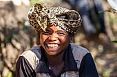 Young woman, Madagascan, Madagascar, Africa