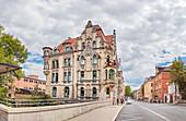 Mohrenstraße in Coburg, Oberfranken, Bayern, Deutschland