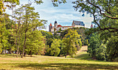 Veste Coburg und Hofpark in Coburg, Oberfranken, Bayern, Deutschland