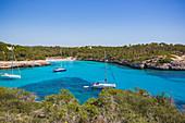 Cala Llombards bay in Mallorca, Spain