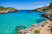 Cala Llombards Bucht auf Mallorca, Spanien