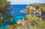 Portals Vells Bay in Mallorca, Spain