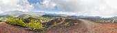 Vulkanlandschaft am Ätna, Seitenkrater Monti Sartorius, Sizilien, Italien