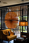 Lounge area in the Six Senses Duxton Boutique Hotel in Chinatown, Singapore, Singapore, Asia
