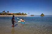 Water sports activities at Six Senses Fiji Resort, Malolo Island, Mamanuca Group, Fiji Islands, South Pacific