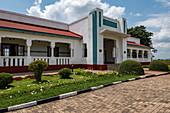 Exterior view of the Royal Palace Museum of King Mutara III Rudahigwa 1931, Nyanza, Southern Province, Rwanda, Africa