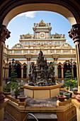 Temple at the Vinh Trang Pagoda, My Tho, Tien Giang, Vietnam, Asia